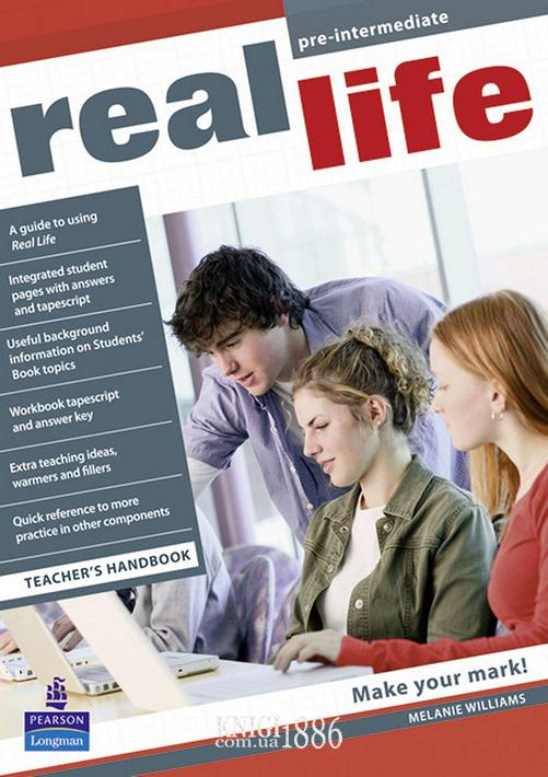 Книга для учителя «Real Life», уровень (A2) Pre-Intermediate, Sarah Cunningham, Peter Moor, Martyn Hobbs, Julia Starr Keddle | Pearson-Longman