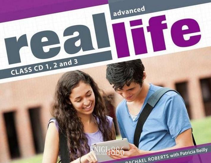 Аудио-диск «Real Life», уровень (C1) Advanced, Sarah Cunningham, Peter Moor, Martyn Hobbs, Julia Starr Keddle | Pearson-Longman