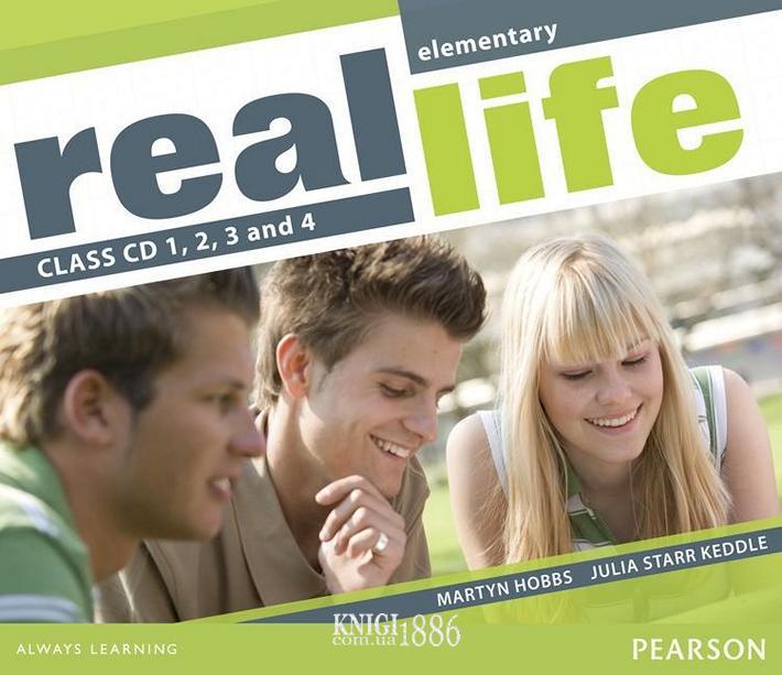 Аудио-диск «Real Life», уровень (A1) Elementary, Sarah Cunningham, Peter Moor, Martyn Hobbs, Julia Starr Keddle | Pearson-Longman
