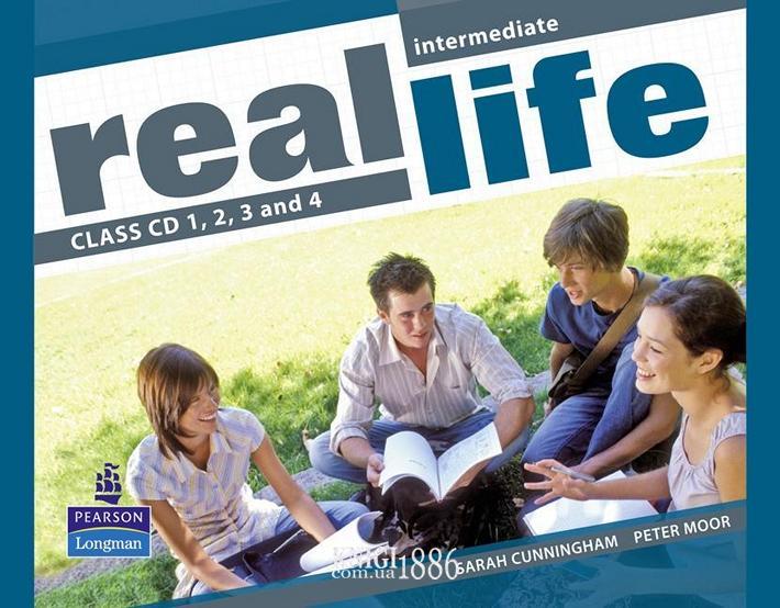 Аудио-диск «Real Life», уровень (B1) Intermediate, Sarah Cunningham, Peter Moor, Martyn Hobbs, Julia Starr Keddle | Pearson-Longman