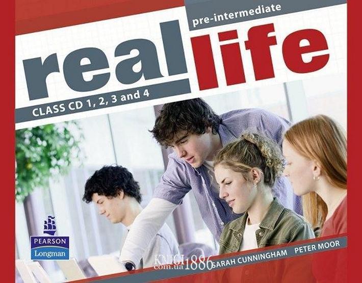 Аудио-диск «Real Life», уровень (A2) Pre-Intermediate, Sarah Cunningham, Peter Moor, Martyn Hobbs, Julia Starr Keddle | Pearson-Longman