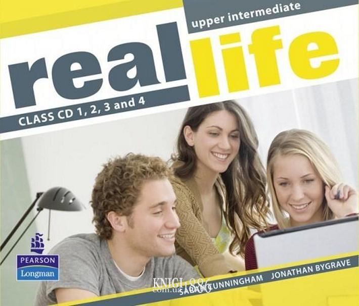 Аудио-диск «Real Life», уровень (B2) Upper-Intermediate, Sarah Cunningham, Peter Moor, Martyn Hobbs, Julia Starr Keddle | Pearson-Longman