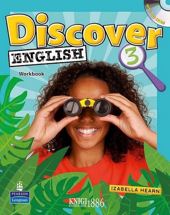 Рабочая тетрадь «Discover English», уровень 3, Kate Wakemen | Pearson-Longman