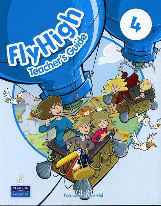Книга для учителя «Fly High», уровень 4, Jeanne Perrett, Charlotte Covil, Danae Kozanoglou | Pearson-Longman