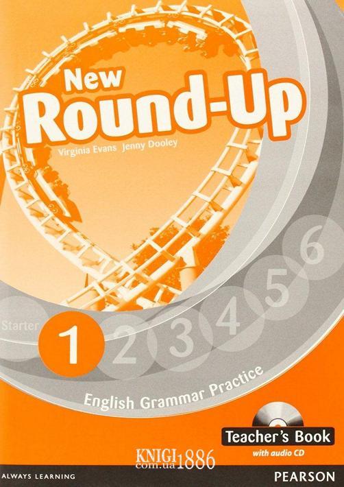 Книга для учителя «New Round Up», уровень 1, Virginia Evans, Jenny Dooley | Pearson-Longman
