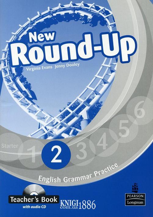 Книга для учителя «New Round Up», уровень 2, Virginia Evans, Jenny Dooley | Pearson-Longman