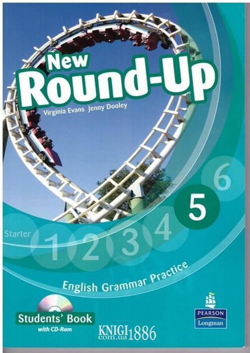 Учебник «New Round Up», уровень 5, Virginia Evans, Jenny Dooley | Pearson-Longman