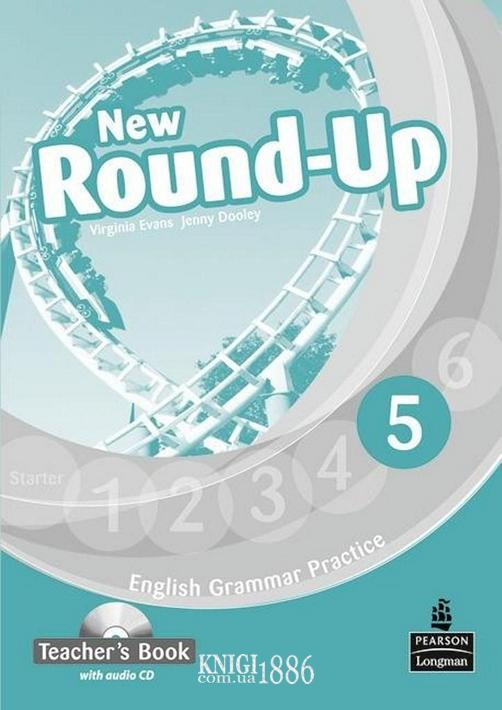 Книга для учителя «New Round Up», уровень 5, Virginia Evans, Jenny Dooley | Pearson-Longman