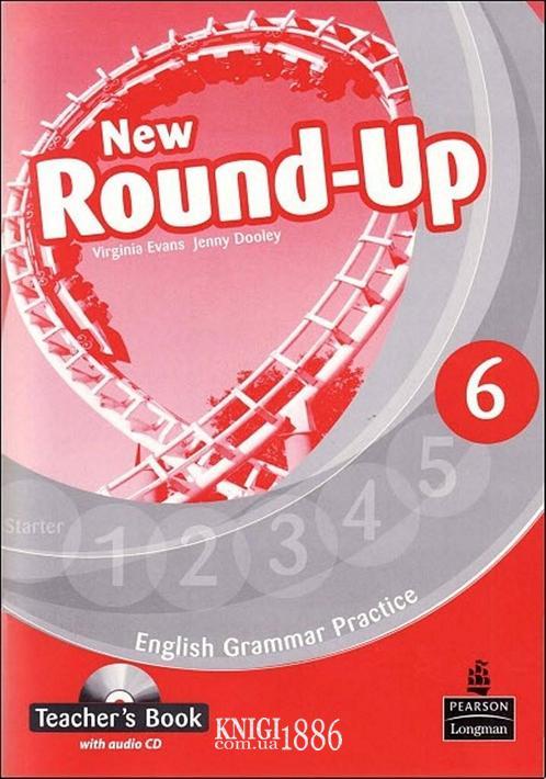 Книга для учителя «New Round Up», уровень 6, Virginia Evans, Jenny Dooley | Pearson-Longman