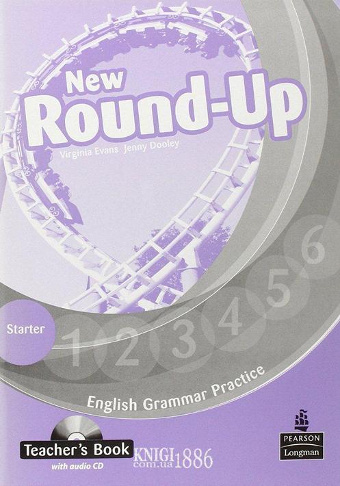 Книга для учителя «New Round Up», уровень Starter, Virginia Evans, Jenny Dooley | Pearson-Longman