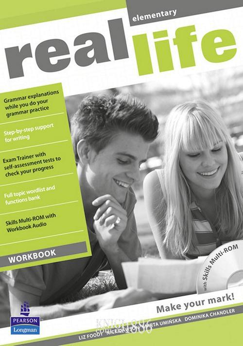 Рабочая тетрадь «Real Life», уровень (A1) Elementary, Sarah Cunningham, Peter Moor, Martyn Hobbs, Julia Starr Keddle | Pearson-Longman