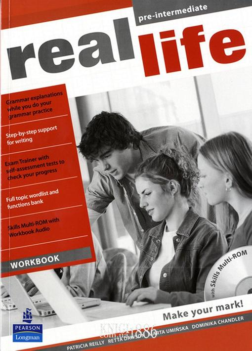Рабочая тетрадь «Real Life», уровень (A2) Pre-Intermediate, Sarah Cunningham, Peter Moor, Martyn Hobbs, Julia Starr Keddle | Pearson-Longman