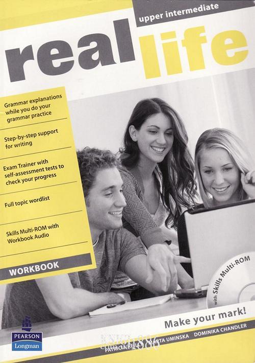 Рабочая тетрадь «Real Life», уровень (B2) Upper-Intermediate, Sarah Cunningham, Peter Moor, Martyn Hobbs, Julia Starr Keddle | Pearson-Longman