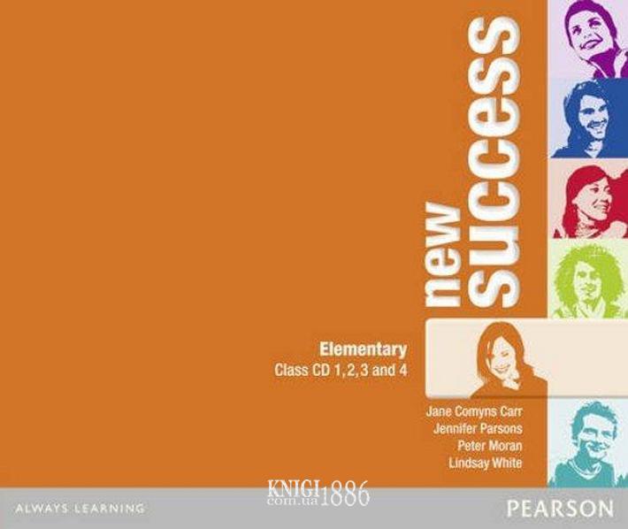 Аудио-диск «New Success», уровень (A1) Elementary, Jeremy Day, Rod Fricker, Bob Hastings, Grant Kempton, Jo Kent | Pearson-Longman