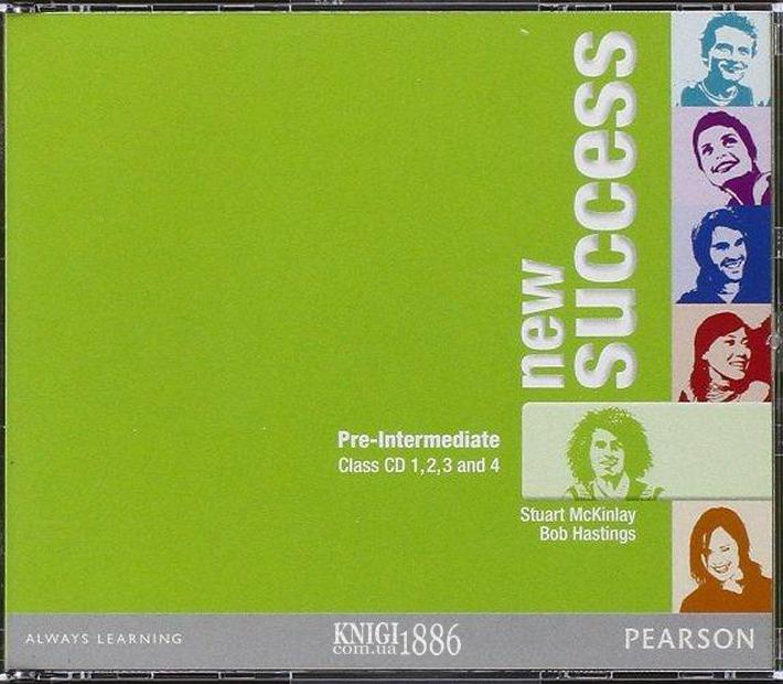 Аудио-диск «New Success», уровень (A2) Pre-Intermediate, Jeremy Day, Rod Fricker, Bob Hastings, Grant Kempton, Jo Kent | Pearson-Longman