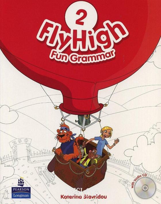 Учебник по грамматике «Fly High», уровень 2, Jeanne Perrett, Charlotte Covil, Danae Kozanoglou | Pearson-Longman