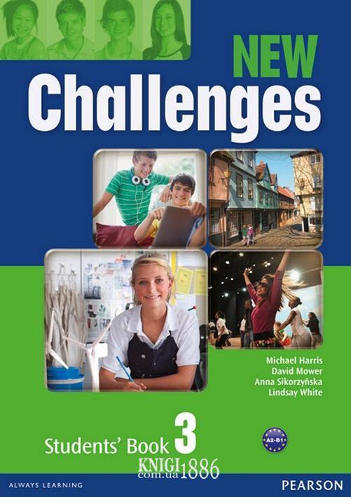 Учебник «New Challenges», уровень 3, Michael Harris, Amanda Harris, David Mover, Anna Sikorzynska | Pearson-Longman