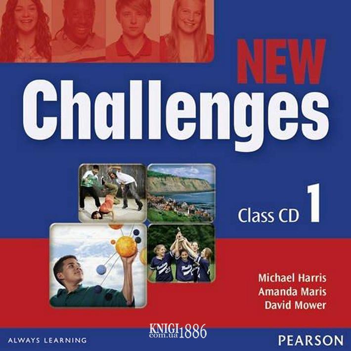 Аудио-диск «New Challenges», уровень 1, Michael Harris, Amanda Harris, David Mover, Anna Sikorzynska | Pearson-Longman