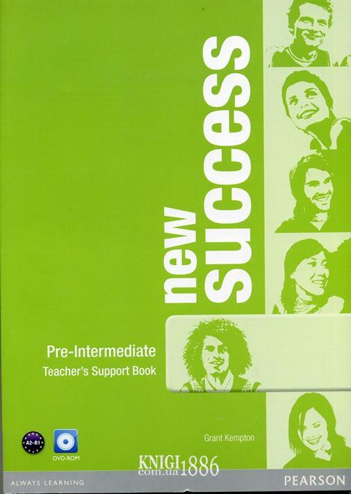 Книга для учителя «New Success», уровень (A2) Pre-Intermediate, Jeremy Day, Rod Fricker, Bob Hastings, Grant Kempton, Jo Kent | Pearson-Longman