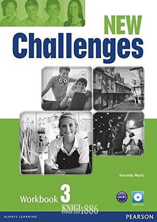 Рабочая тетрадь «New Challenges», уровень 3, Michael Harris, Amanda Harris, David Mover, Anna Sikorzynska | Pearson-Longman