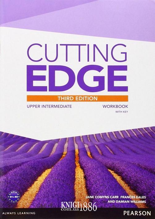Рабочая тетрадь «Cutting Edge», уровень (B2) Upper-Intermediate, Saran Cunningham, Peter Moor, Jonatan Bygrave | Pearson-Longman