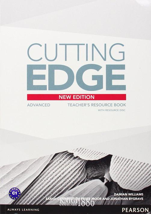 Книга для учителя «Cutting Edge», уровень (C1) Advanced, Saran Cunningham, Peter Moor, Jonatan Bygrave | Pearson-Longman