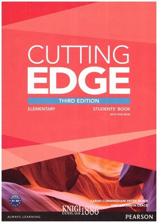 Учебник «Cutting Edge», уровень (A1) Elementary, Saran Cunningham, Peter Moor, Araminta Crace | Pearson-Longman