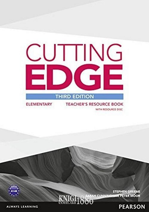 Книга для учителя «Cutting Edge», уровень (A1) Elementary, Saran Cunningham, Peter Moor, Jonatan Bygrave | Pearson-Longman