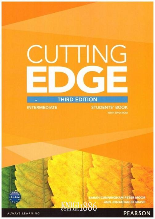 Учебник «Cutting Edge», уровень (B1) Intermediate, Saran Cunningham, Peter Moor, Jonatan Bygrave | Pearson-Longman
