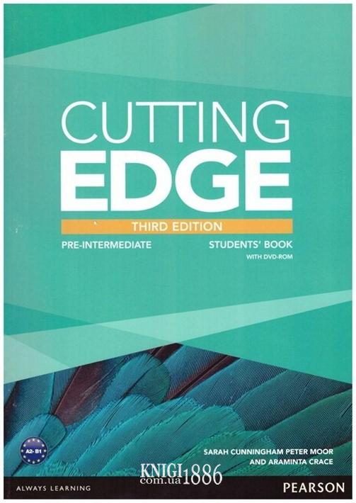 Учебник «Cutting Edge», уровень (A2) Pre-Intermediate, Saran Cunningham, Peter Moor, Araminta Crace | Pearson-Longman