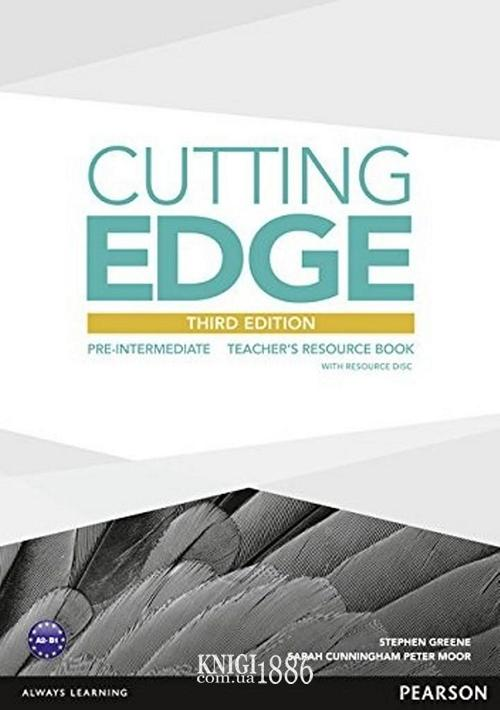 Книга для учителя «Cutting Edge», уровень (A2) Pre-Intermediate, Saran Cunningham, Peter Moor, Jonatan Bygrave | Pearson-Longman