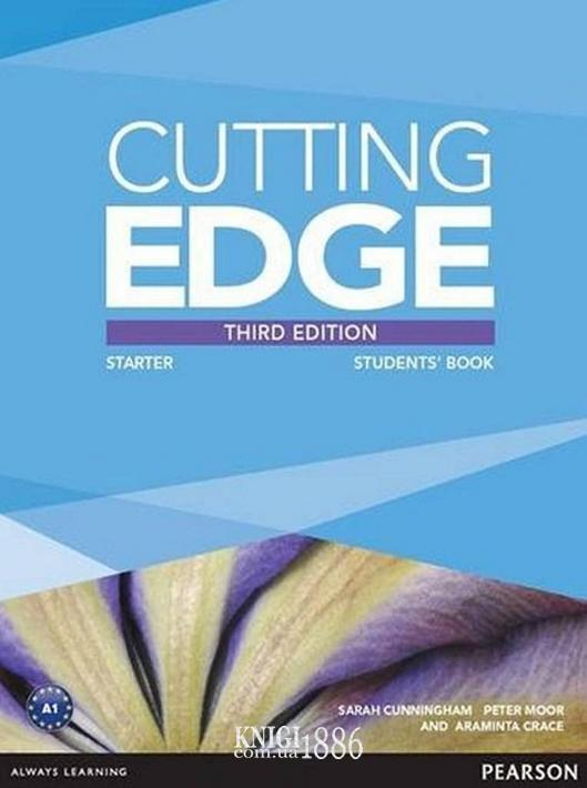 Учебник «Cutting Edge», уровень Starter, Saran Cunningham, Peter Moor, Jonatan Bygrave   Pearson-Longman