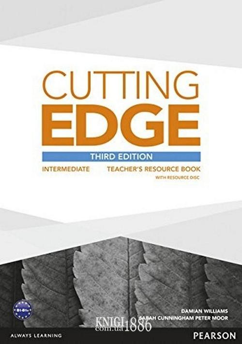 Книга для учителя «Cutting Edge», уровень (B1) Intermediate, Saran Cunningham, Peter Moor, Jonatan Bygrave | Pearson-Longman