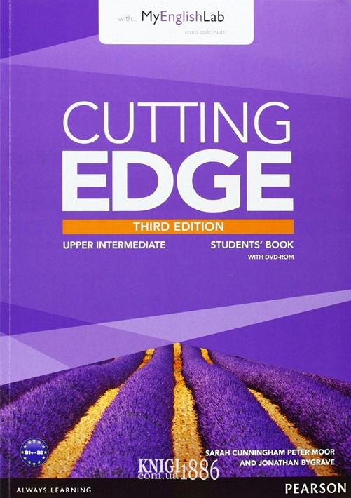 Учебник с DVD «Cutting Edge», уровень (B2) Upper-Intermediate, Saran Cunningham, Peter Moor, Jonatan Bygrave | Pearson-Longman