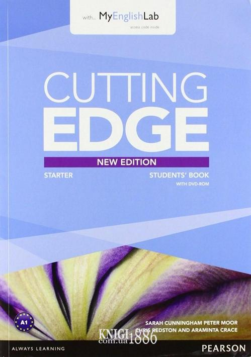 Учебник с DVD «Cutting Edge», уровень Starter, Saran Cunningham, Peter Moor, Jonatan Bygrave | Pearson-Longman