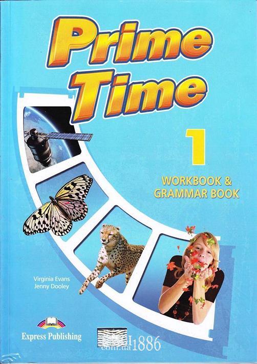 Рабочая тетрадь с грамматикой «Prime Time», уровень 1, Virginia Evans | Exspress Publishing