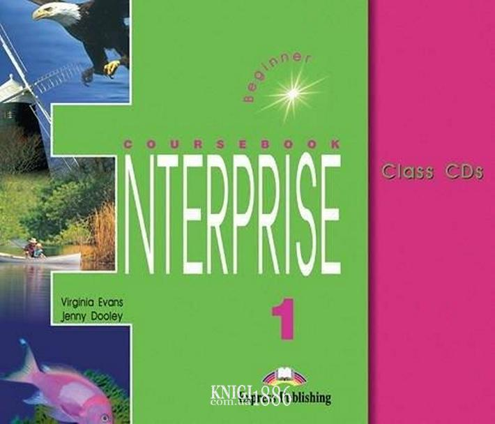 Аудио-диск «Enterprise», уровень 1, Virginia Evans | Exspress Publishing