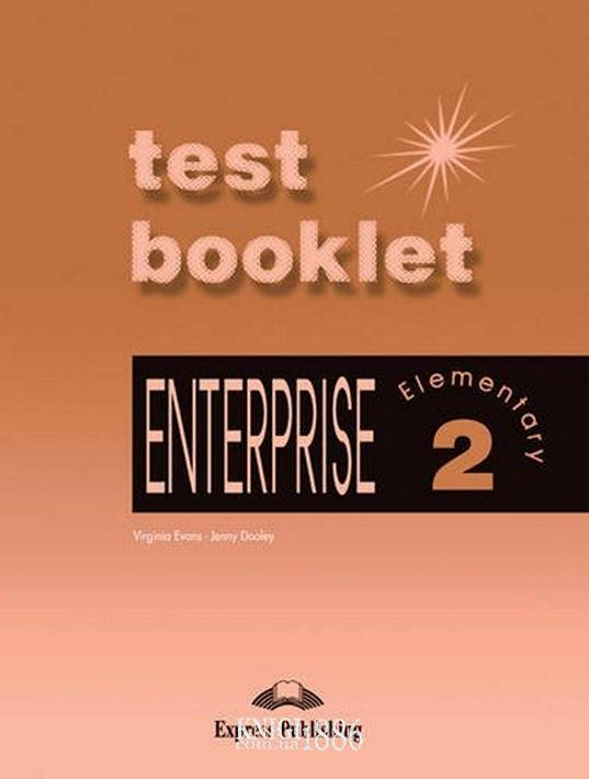 Тесты — упражнения «Enterprise», уровень 2, Virginia Evans | Exspress Publishing