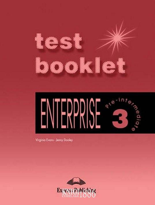 Тесты — упражнения «Enterprise», уровень 3, Virginia Evans | Exspress Publishing