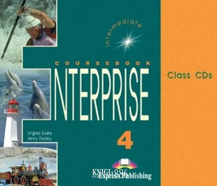 Аудио-диск «Enterprise», уровень 4, Virginia Evans | Exspress Publishing