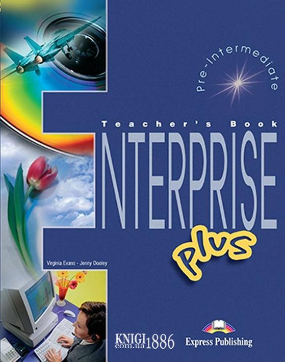 Книга для учителя «Enterprise», уровень (A2+) Pre-intermediate, Virginia Evans | Exspress Publishing
