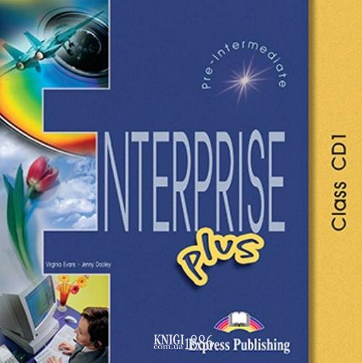 Аудио-диск «Enterprise», уровень (A2+) Pre-intermediate, Virginia Evans | Exspress Publishing