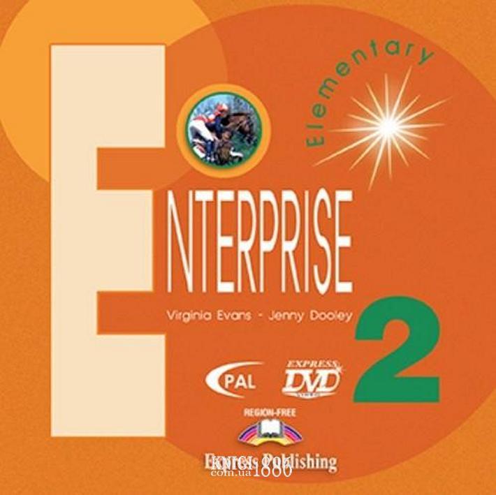 Видео «Enterprise», уровень 2, Virginia Evans | Exspress Publishing