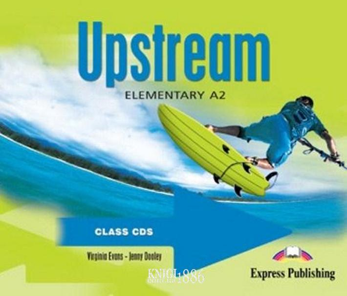 Аудио-диск «Upstream», уровень (A1) Elementary, Virginia Evans | Exspress Publishing