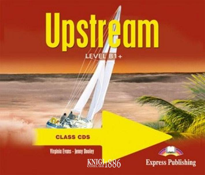 Аудио-диск «Upstream», уровень (B1+) Intermediate, Virginia Evans | Exspress Publishing