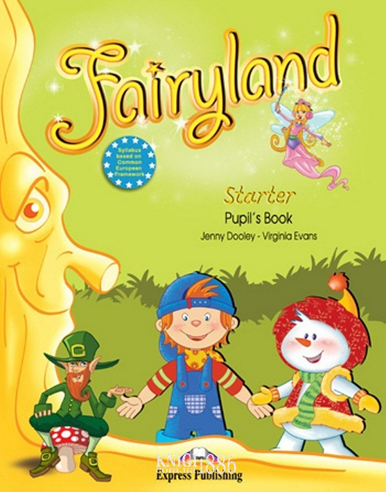 Учебник «Fairyland», уровень Starter, Jenny Dooley | Exspress Publishing