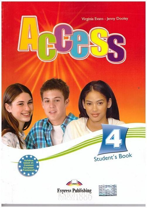Учебник «Access», уровень 4, Virginia Evans | Exspress Publishing