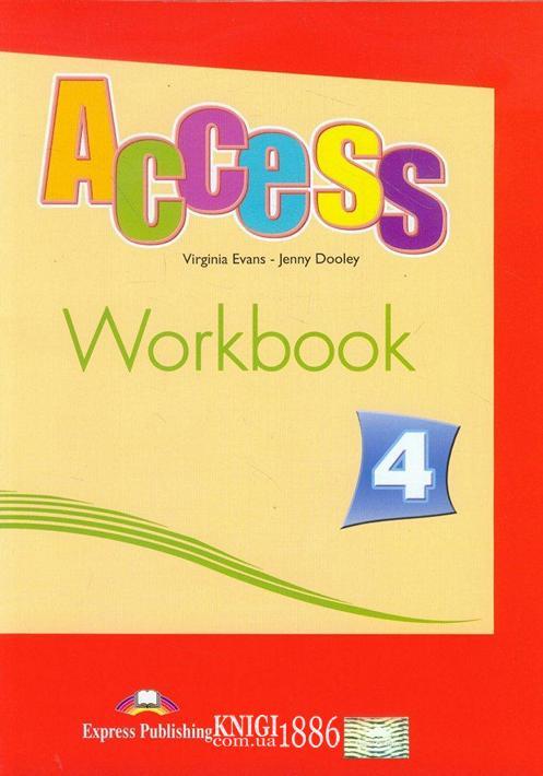 Рабочая тетрадь «Access», уровень 4, Virginia Evans | Exspress Publishing