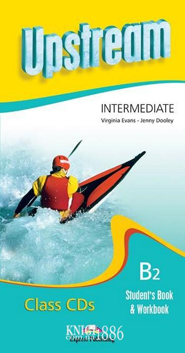 Аудио-диск «Upstream» второе издание, уровень (B1) Intermediate, Virginia Evans | Exspress Publishing