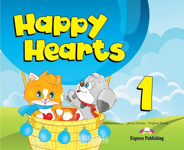 Учебник «Happy Hearts», уровень 1, Jenny Dooley | Exspress Publishing